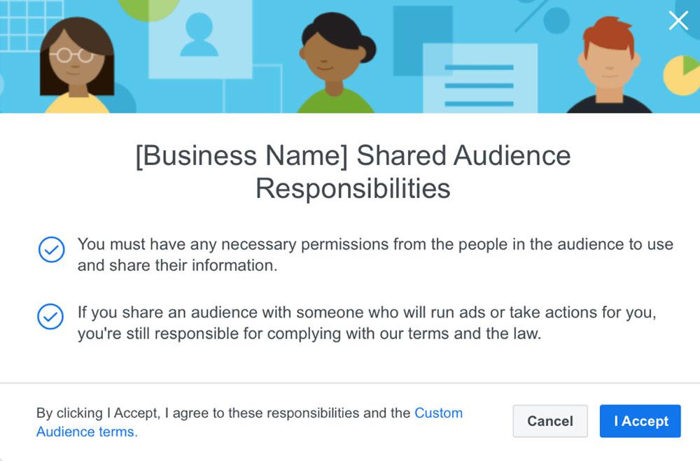 Новые требования к пользовательской аудитории в Facebook