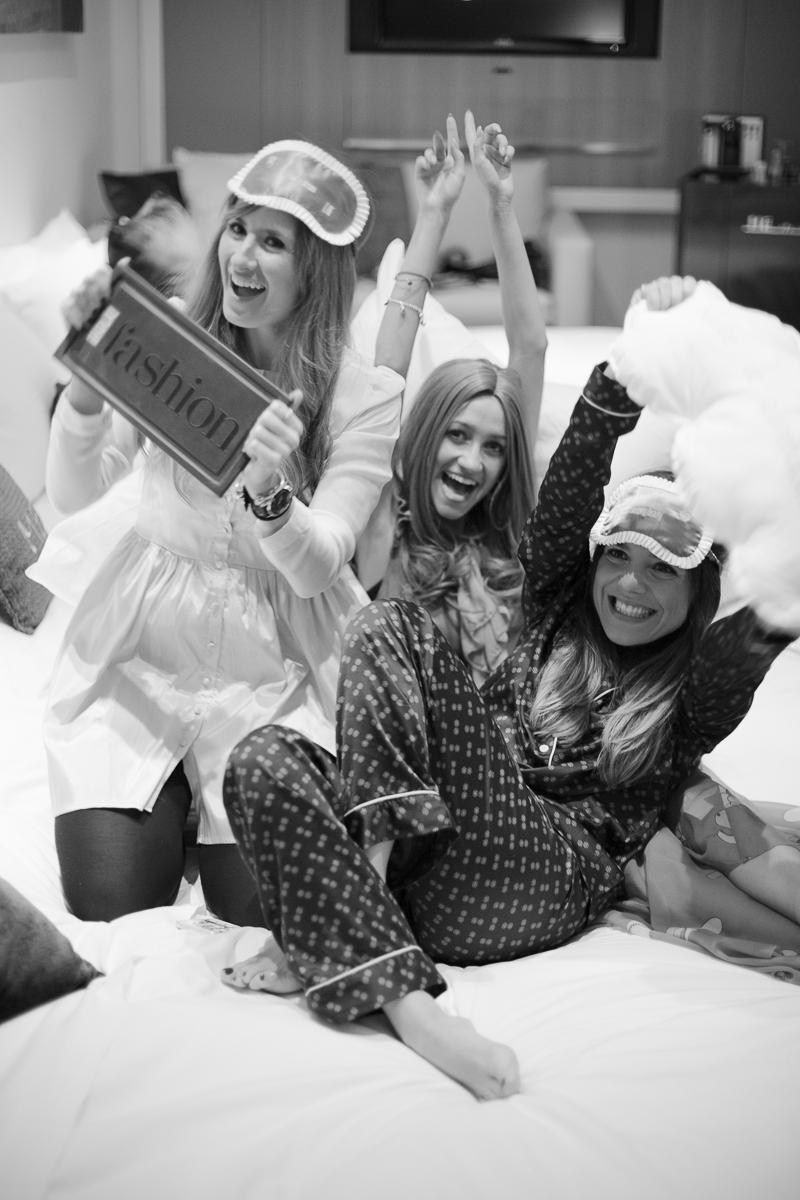 Пижамная вечеринка в отеле