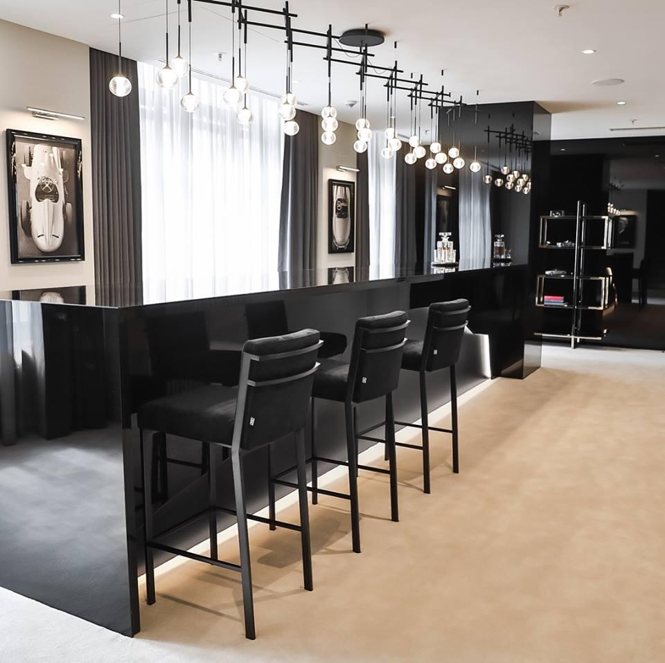 Mersedes Benz Hotel Room