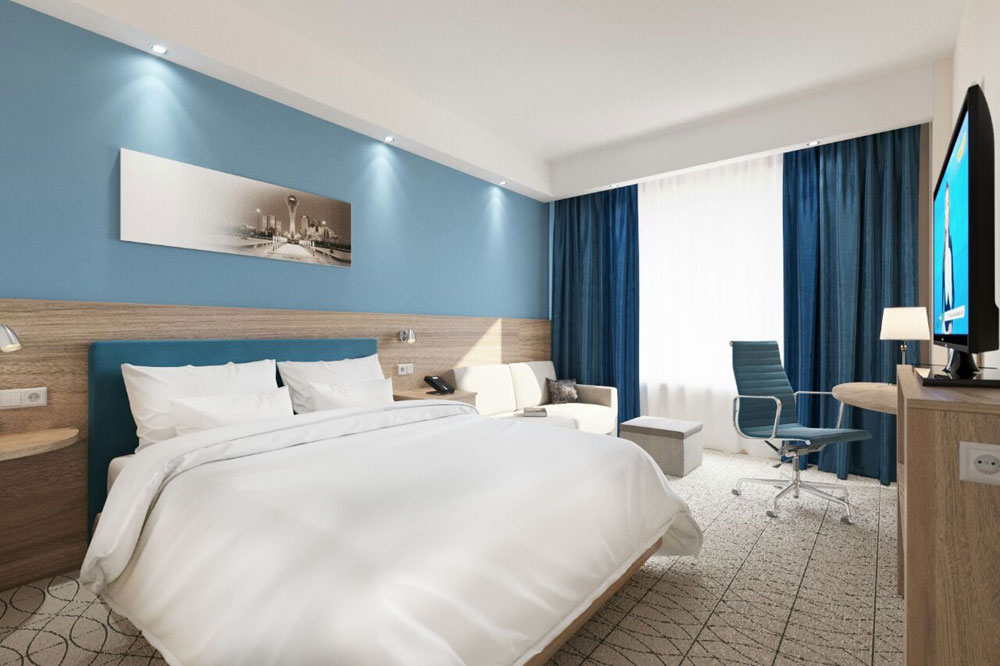 Номер Hampton by Hilton Astana Triumphal Arch