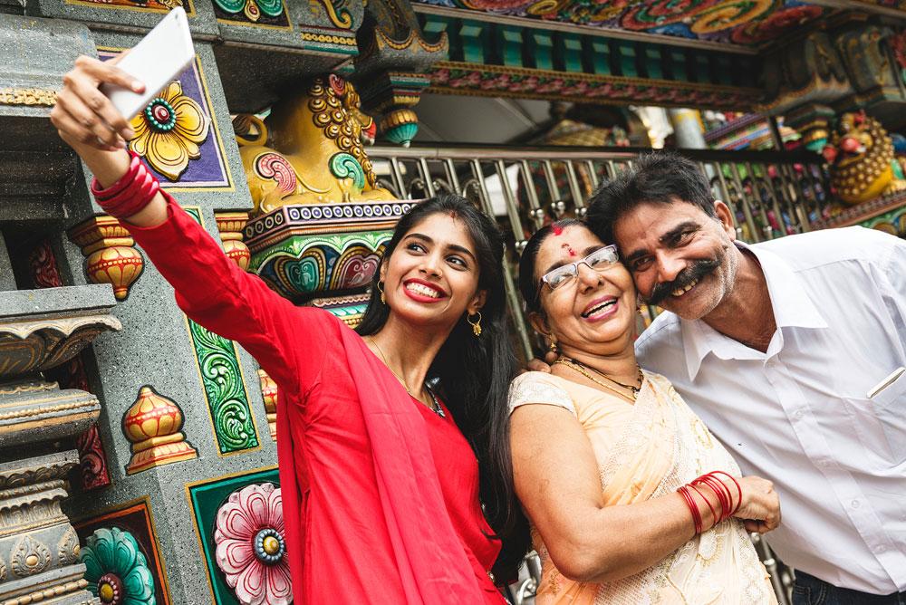 путешественники из Индии