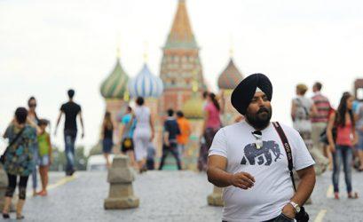 Indian tourist