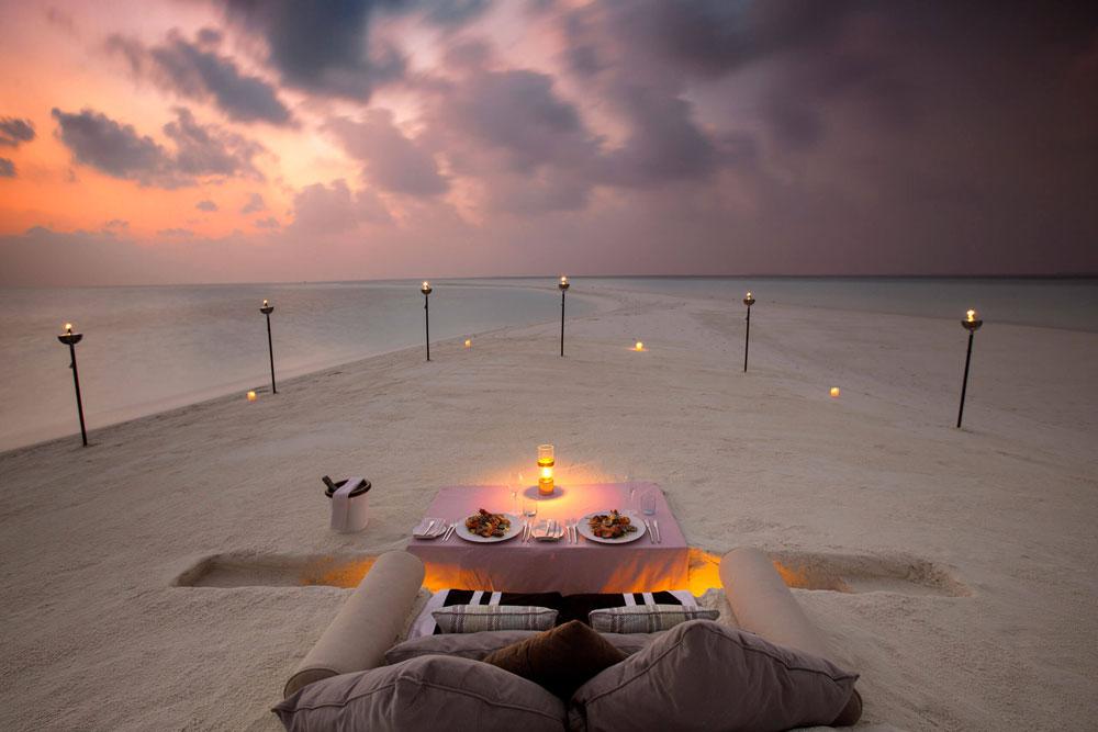 MIlaidhoo ужин на приватном острове