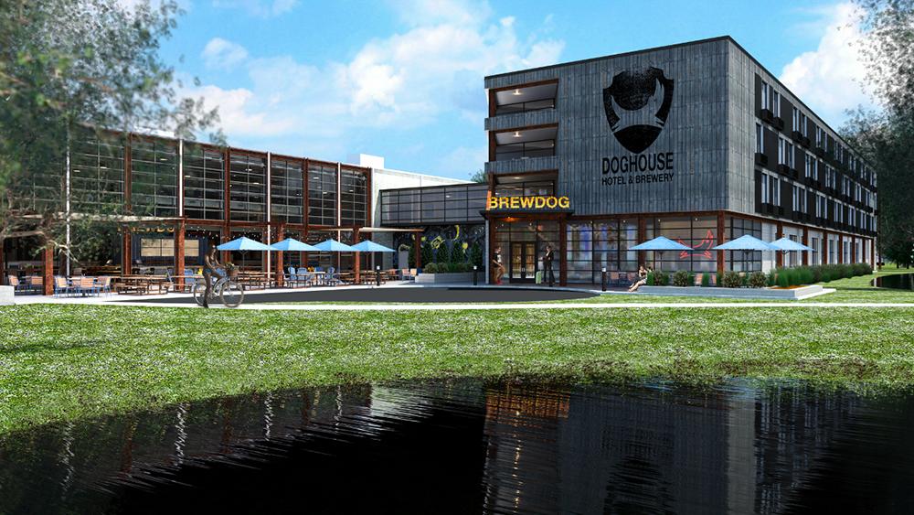 Первый в мире пивной отель The Dog House