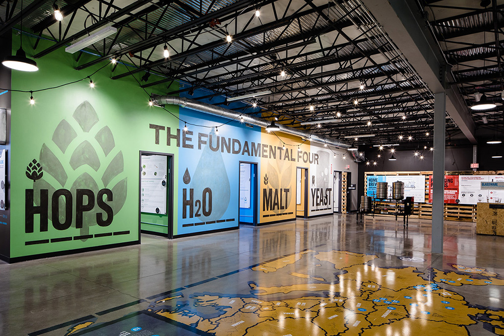 Музей пивоварни Brewdog USA