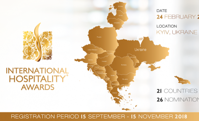 Открыта регистрация на участие в International Hospitality Awards® 2018