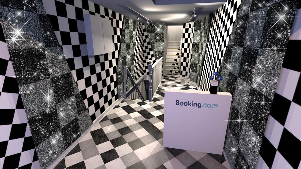 Сверкающий дом Booking.com