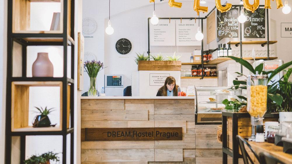 Украинская сеть «DREAM Hostels» открыла новый хостел в Праге
