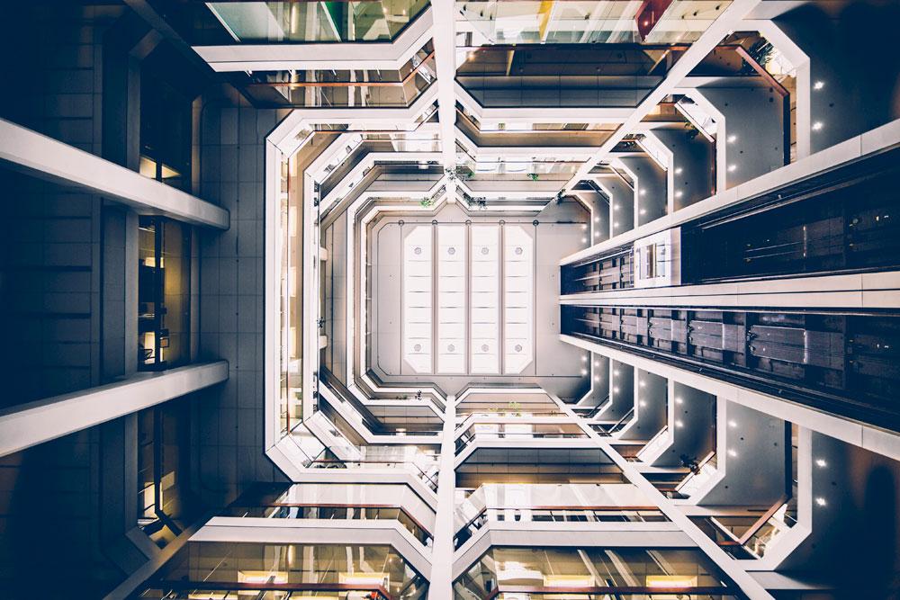 Архитектурный эскиз отеля