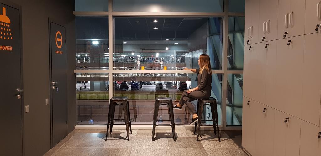 В аэропорту Борисполь появился капсульный отель