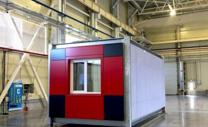 prefab-модуль для строительства будущих отелей ibis