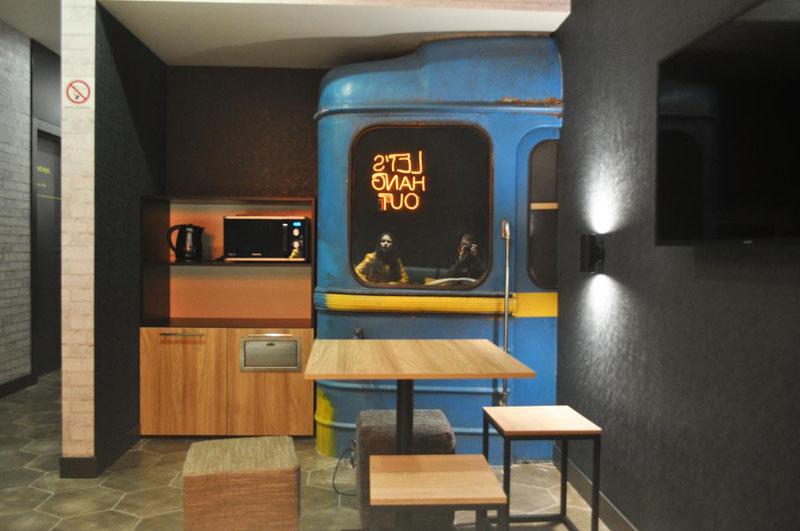 Metro-hostel Kiev