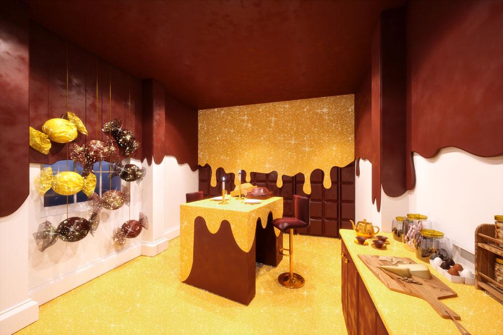 «Карамельный домик» — самое сладкое жилье в мире Booking.com
