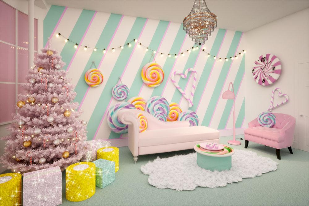 «Карамельный домик» — самое сладкое жилье в мире