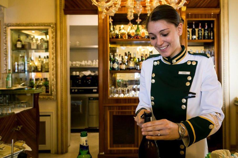 Униформа сотрудников отеля