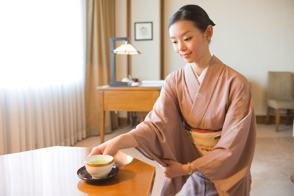 кимоно - униформа сотрудников Imperial Hotel Tokyo