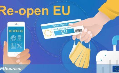 Еврокомиссия запустила сайт для отслеживания открытия границ и возобновления туризма