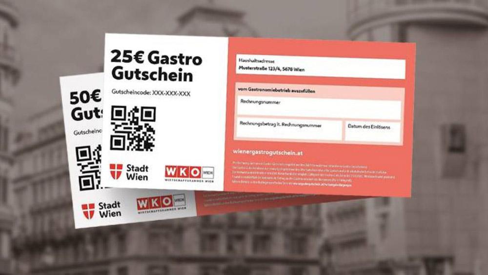 В Вене выдают ваучеры на поход в ресторан